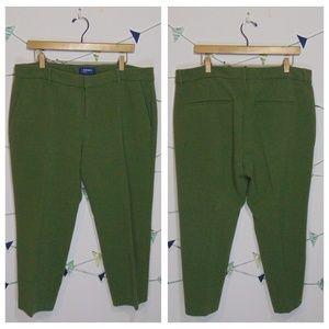 Old Navy Soft Harper Mid Rise I Think Olive Pants